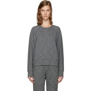 A.P.C x Outdoor Voices Gray Sweat Running Pullover